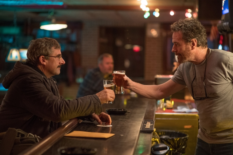 "Steve Carell as ""Doc"" and Bryan Cranston as ""Sal"" in LAST FLAG FLYING."